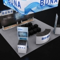BDNA Booth Concept Design
