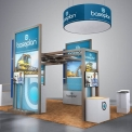 Baseplan Booth Concept Design