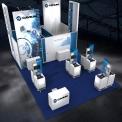 Calvium Booth Concept Design