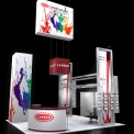 Lansco Booth Concept Design