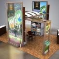 Misionero Booth Concept Design
