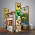 Potatoes Booth Concept Design