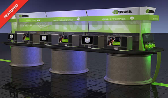 Nvidia Retail Display - Blazer Exhibits and Events