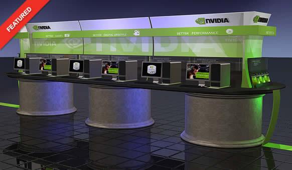 Nvidia Retail Display - Blazer Exhibits and Events
