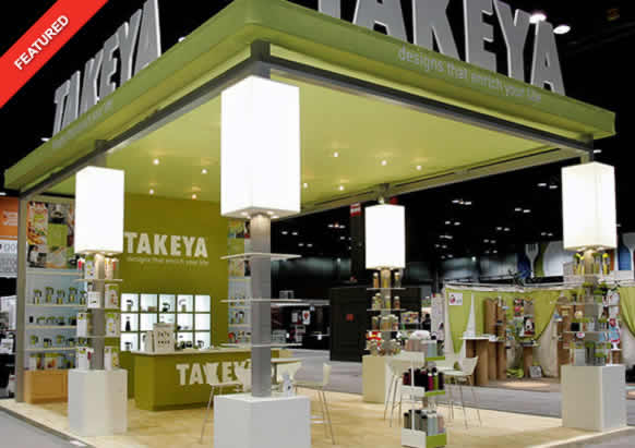 Takeya 20x30 Island Exhibit - Blazer Exhibits & Events
