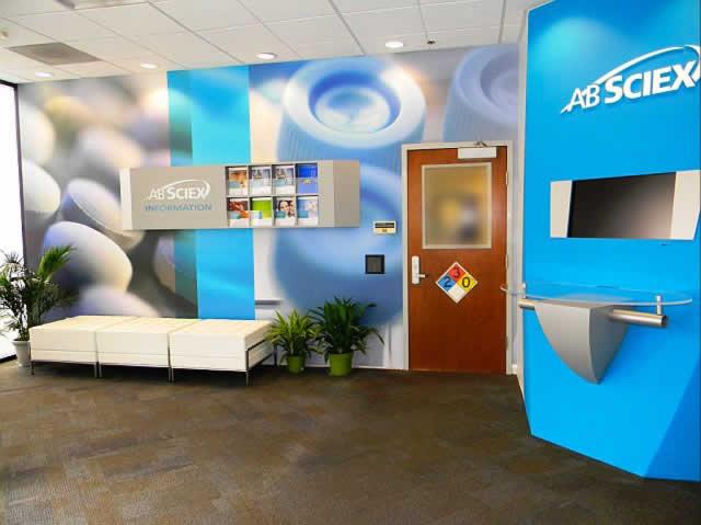 Blazer Exhibits & Events Custom Corporate Lobby Interior Center