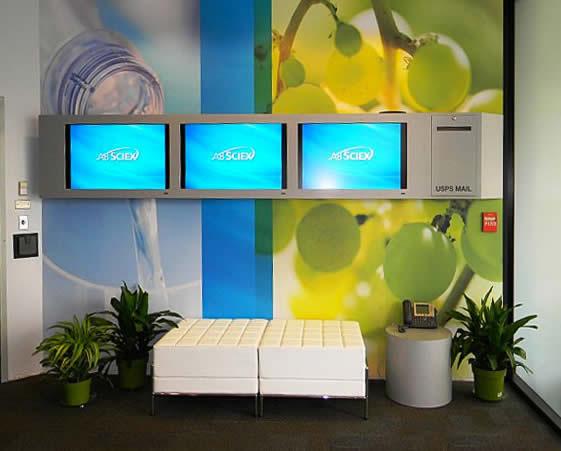 Blazer Exhibits & Events Custom Corporate Lobby