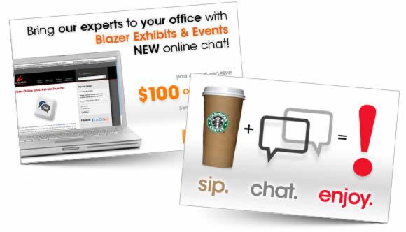 Blazer-Exhibits-Online-Chat