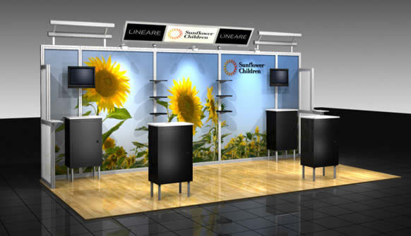 Portable Exhibition Booth Design : Abex alumalite portable exhibits blazer