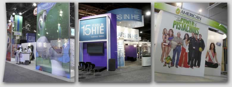 Custom Trade Show Booth & Exhibit Rentals by Blazer Exhibits & Events