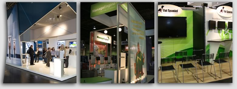 Exhibit Displays for Trade Show Booths