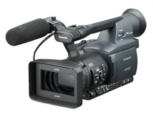 """Panasonic AG HPX171E Camcorder for Hire"" by AV Hire London"
