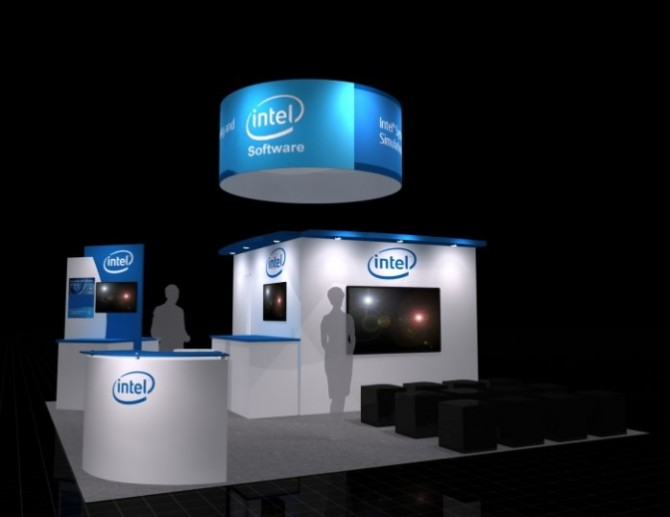 project spotlight intel booth at the design automation