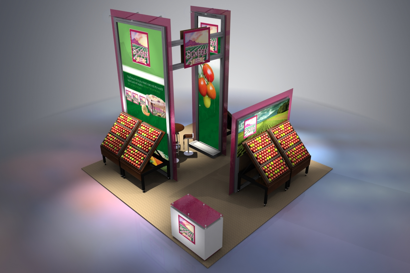 creatve trade show display ideas