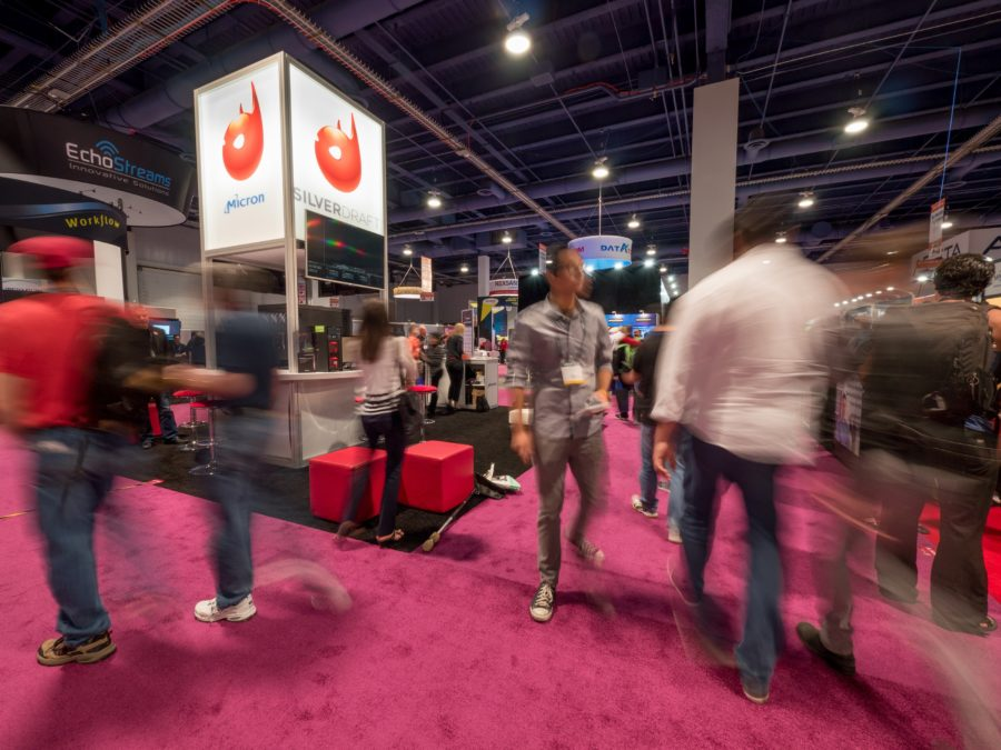 Dont Miss The Latest Trade Show Display Ideas At The Sensors Expo - Car show booth ideas