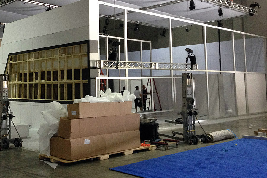 trade show installation and dismantle