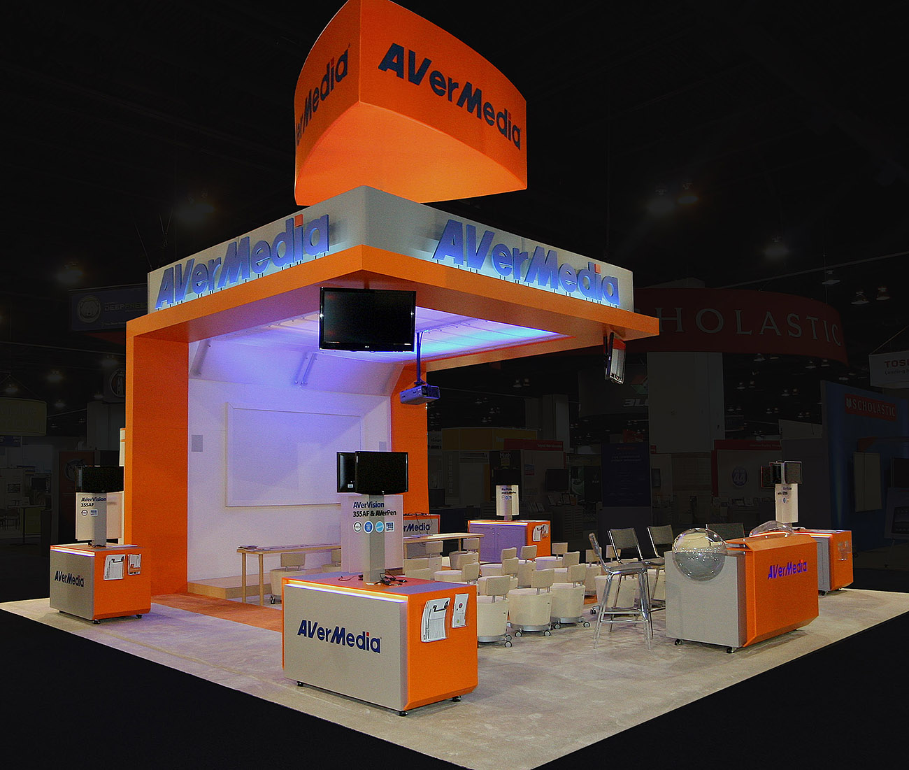 Custom Exhibition Stand Up : Custom trade show exhibits custom trade show booth ideas